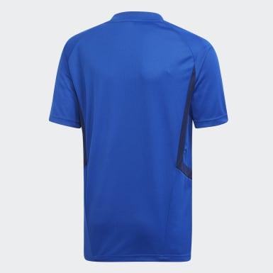 Kinderen Training Blauw Tiro 19 Training Voetbalshirt