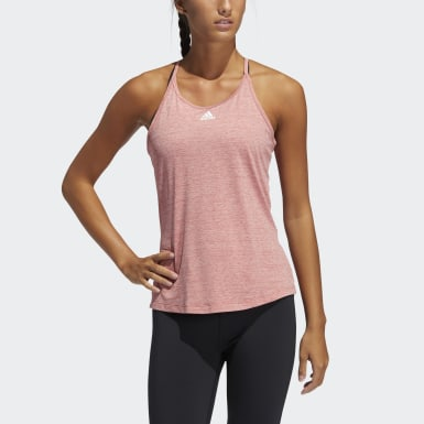 Women Training Red Performance Tank Top