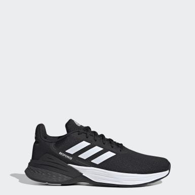 ผู้ชาย วิ่ง สีดำ รองเท้า Response SR