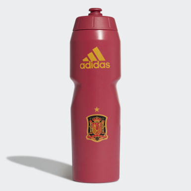 Gourde Espagne Rouge Football