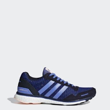 синий Кроссовки для бега Adizero Adios 3