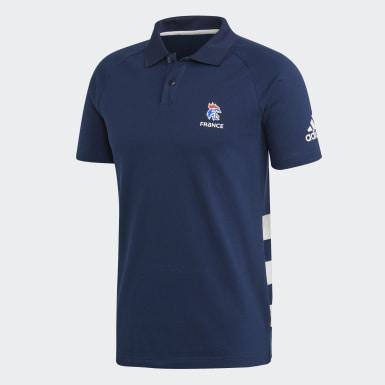 Muži Házená modrá Polokošile French Handball Federation