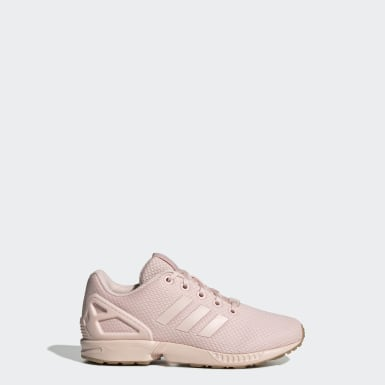Children Originals Pink ZX Flux Shoes