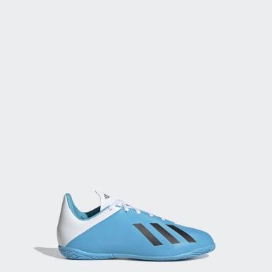 Boys Football Turquoise X 19.4 Indoor Boots