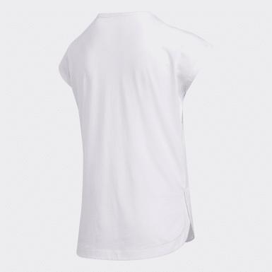 T-shirt Dolman blanc Enfants Entraînement