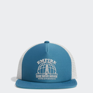 Gorra Trucker Empire Turquesa Originals