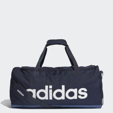 Training Blue Linear Duffel Bag