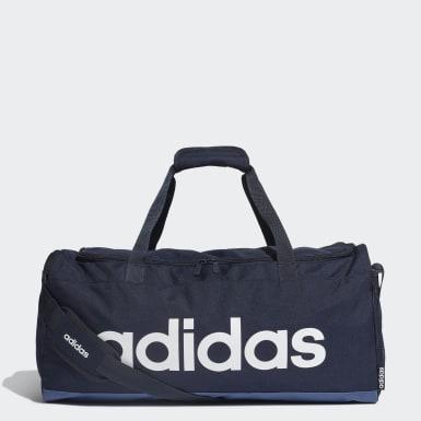 Träning Blå Linear Duffel Bag