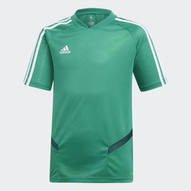 Youth 8-16 Years Training Green Tiro 19 Training Jersey