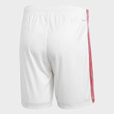 Football White Ajax Amsterdam Home Shorts