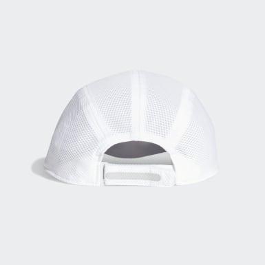วิ่ง สีขาว หมวกแก๊ปผ้าตาข่ายสำหรับนักวิ่ง AEROREADY