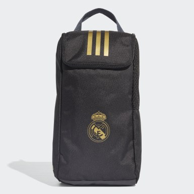 Football Black Real Madrid Shoe Bag