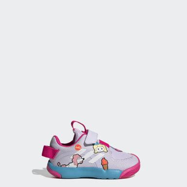 Infants เทรนนิง สีม่วง รองเท้า ActivePlay Cleofus