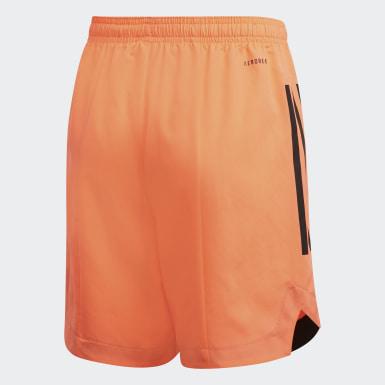 Pantalón corto Condivo 20 Naranja Niño Training