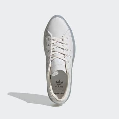 ผู้หญิง Originals สีขาว adidas SLEEK SUPER W AC