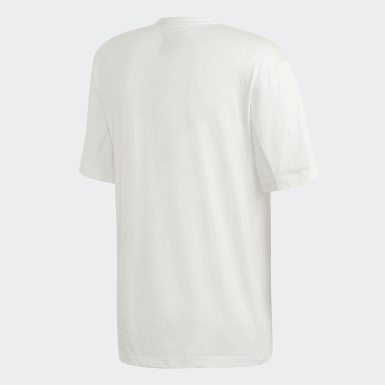 Erkek Originals Beyaz Kaval Tişört