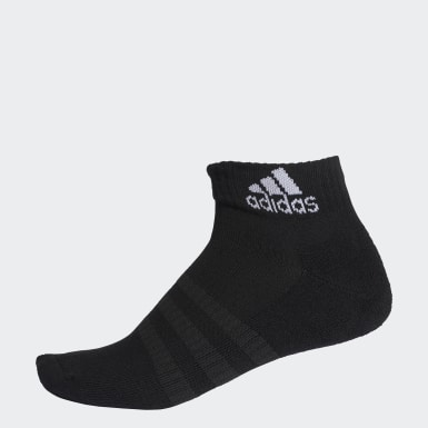 Training Black Cushioned Ankle Socks