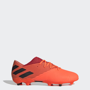 Soccer Orange Nemeziz 19.2 Firm Ground Cleats
