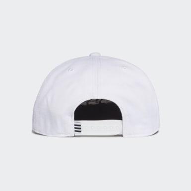 Snapback Logo Caps Hvit