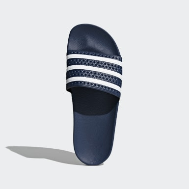 Originals Blå adilette Slides