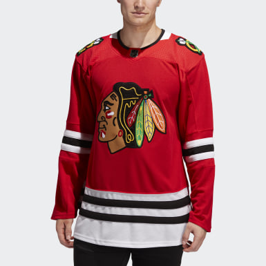 Maillot Chicago Blackhawks Domicile Authentique Pro rouge Hommes Hockey
