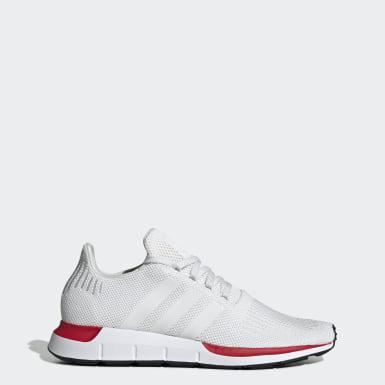 Adidas Swift Run Originals Damen Lifestyle Laufschuhe weiß
