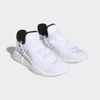 Men's Originals White HU NMD Shoes