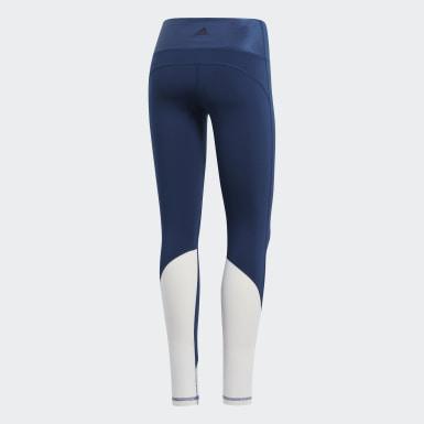 Calça Legging Longa Believe This High-Rise Elevated Azul Mulher Training