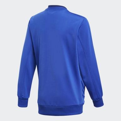 Kinder Training Condivo 18 Jacke Blau