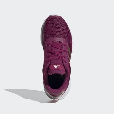 เด็ก วิ่ง สีแดงเบอร์กันดี รองเท้า Tensor