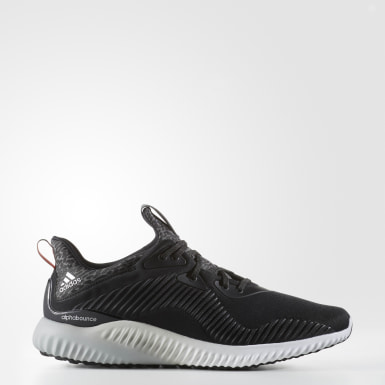 Men's Running Black Alphabounce Shoes
