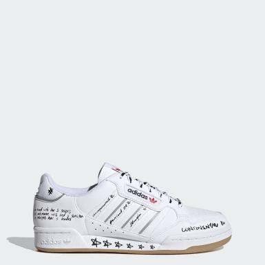 ผู้ชาย Originals สีขาว รองเท้า Continental 80 Stripes