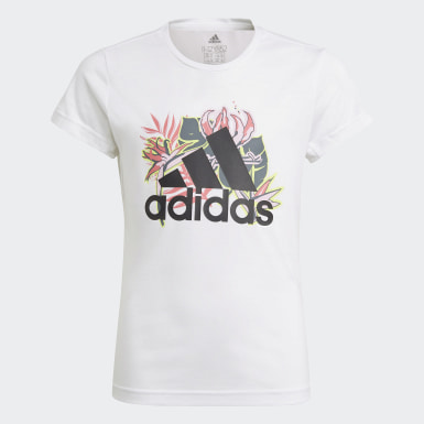 Girls Training White UP2MV AEROREADY Tee