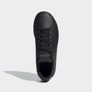 Children Sport Inspired Black Advantage Shoes