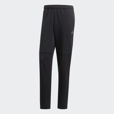 Men Athletics Black ID Tapered Pants