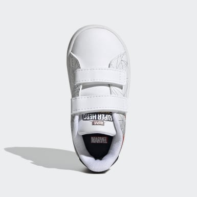 Kids Tennis White Advantage Shoes