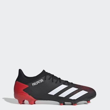 Voetbal Zwart Predator 20.3 Firm Ground Voetbalschoenen