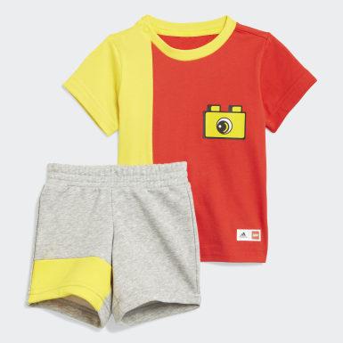 Boys Training Red adidas x LEGO® DUPLO® Set