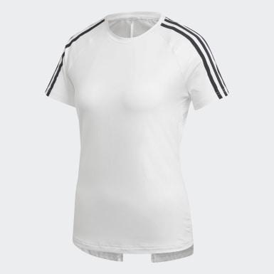 белый Футболка Design 2 Move 3-Stripes
