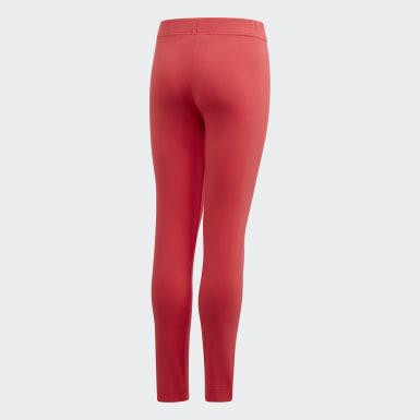 Mädchen Athletics Essentials Linear Tight Rosa