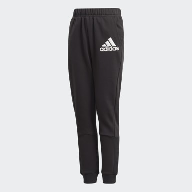 Youth 8-16 Years Training Black Badge of Sport Joggers