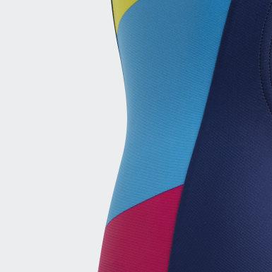 Costume da bagno Colorblock Blu Ragazza Nuoto