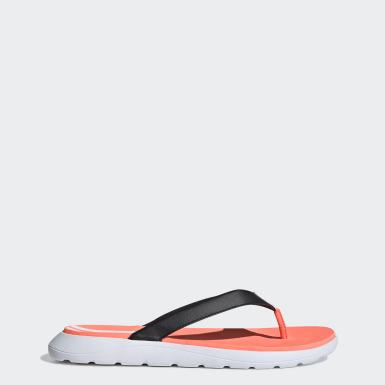 Women Swimming Black Comfort Flip-Flops