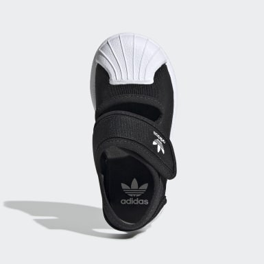 เด็ก Originals สีดำ รองเท้าแตะ Superstar 360