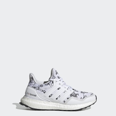 Kids Running White Ultraboost 20 Running Shoes