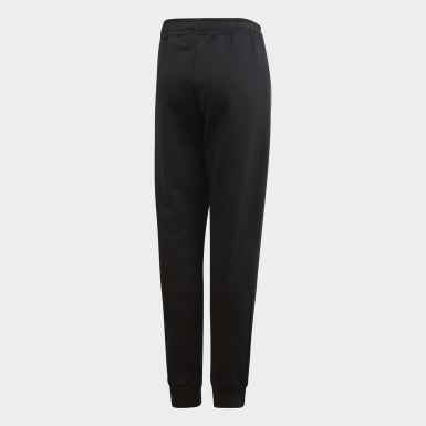 Boys Lifestyle Black Spacer Pants