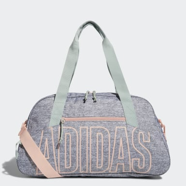 Training Grey Graphic Duffel Bag