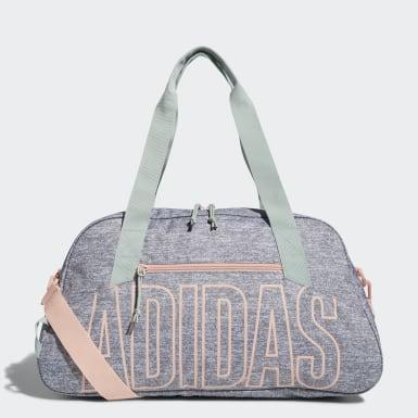 Training Grey Graphic Duffel Bag
