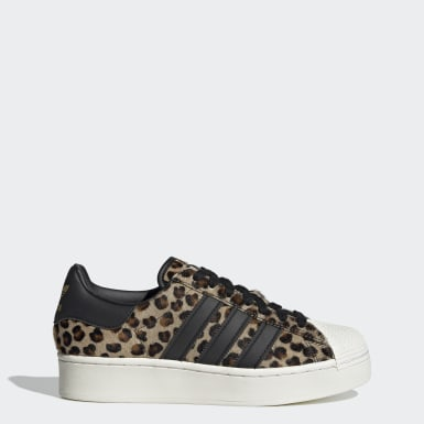 Women Originals Brown Superstar Bold Shoes