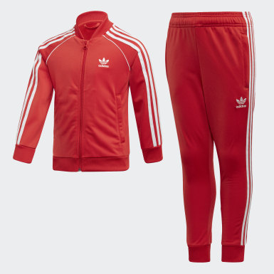 Children Originals Red SST Track Suit